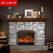 European imitation stone electric fireplace T1.0A