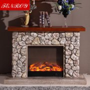 European st<x>yle Stone-like Electric fireplace