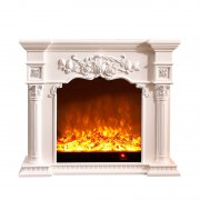 American pastoral style electric fireplace