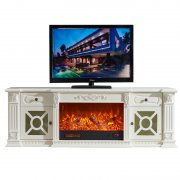 Modern home decoration cabinet electric fireplace