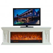 Modern minimalist led flame electric fireplace